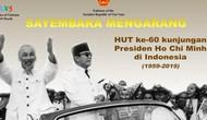 Phát động cuộc thi viết về Chủ tịch Hồ Chí Minh tại Indonesia