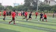 Bắc Ninh đào tạo vận động viên môn Bóng đá nam