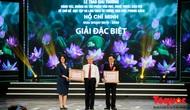 """Lễ trao giải thưởng sáng tác về chủ đề """"Học tập và làm theo tư tưởng, đạo đức, phong cách Hồ Chí Minh"""""""