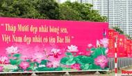 Hà Nội trang hoàng rực rỡ kỷ niệm 130 năm Ngày sinh Chủ tịch Hồ Chí Minh