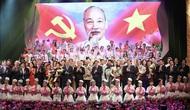 Đẩy mạnh tuyên truyền kỷ niệm 130 năm Ngày sinh Chủ tịch Hồ Chí Minh