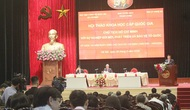 Chủ tịch Hồ Chí Minh là biểu tượng của sự kết hợp hài hòa, đẹp đẽ nhất của văn hóa dân tộc ta và tinh hoa văn hóa nhân loại