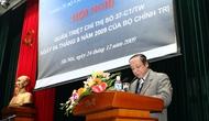 Quán triệt Chỉ thị số 37 - CT/TW của Bộ Chính trị hướng tới Đại hội Đảng toàn quốc lần thứ 11