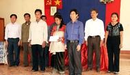 Công đoàn Bộ vạn động xây nhà tình nghĩa cho các hộ nghèo ở Lai Châu