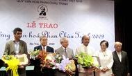 Trao Giải thưởng Văn hóa Phan Châu Trinh cho 5 nhà khoa học