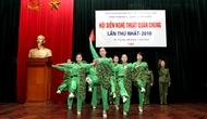Hội diễn Nghệ thuật quần chúng lần thứ I-Công đoàn khối tham mưu quản lý nhà nước