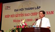 Đại hội thành lập Hiệp hội quyền sao chép Việt Nam