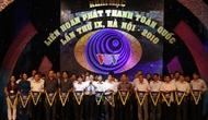Khai mạc Liên hoan Phát thanh toàn quốc lần thứ IX