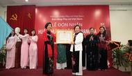 Bảo tàng phụ nữ Việt Nam đón nhận Huân chương độc lập hạng Ba