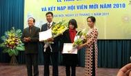 Hội Nhà văn Việt Nam trao giải thưởng văn học 2010