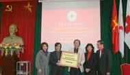 Bộ Văn hóa, Thể thao và Du lịch trao tiền ủng hộ nhân dân Nhật Bản