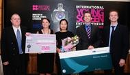 Tổ chức Giải thưởng Doanh nhân Thiết kế trẻ quốc tế tại Việt Nam năm 2011