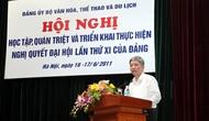 Triển khai nghiên cứu, Quán triệt Nghị quyết Đại hội Đảng toàn quốc lần thứ XI