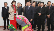Chủ tịch nước Trương Tấn Sang làm việc tại Bảo tàng Dân tộc học Việt Nam