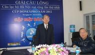 Hà Nội: Tổ chức Giải cầu lông câu lạc bộ mở rộng lần thứ nhất