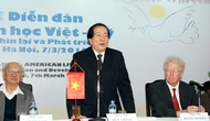 Tổ chức Diễn đàn Văn học Việt-Mỹ