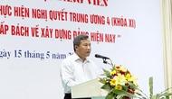 Bộ VHTTDL quán triệt Nghị quyết Trung ương IV - khoá XI