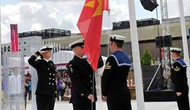 Lễ Thượng cờ của đoàn Thể thao Việt Nam tại Olympic Luân Đôn
