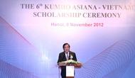 Lễ trao học bổng Văn hoá Việt Nam – Kumho Asiana