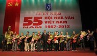 Hội nhà văn Việt Nam kỉ niệm 55 năm ngày thành lập