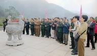 Đoàn đại biểu Cựu chiến binh Bộ VHTTDL hành hương về cội nguồn