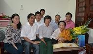 Công đoàn Bộ VHTTDL thăm Mẹ Việt Nam anh hùng Nguyễn Thị Vạch