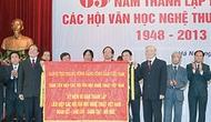 Liên hiệp các Hội Văn học nghệ thuật Việt Nam kỷ niệm 65 năm thành lập