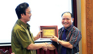 Giao lưu giữa CLB hưu trí Bộ VHTTDL tại Hà Nội với CLB hưu trí tại TP Hồ Chí Minh