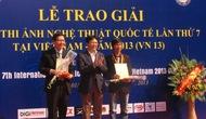Lễ trao giải thưởng Cuộc thi Ảnh nghệ thuật quốc tế lần thứ 7