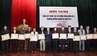 Hội nghị tổng kết công tác xây dựng Đảng năm 2013, phương hướng nhiệm vụ năm 2014
