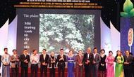 """Trao giải """"Liên hoan ảnh, phim phóng sự - tài liệu về bảo vệ môi trường và biến đổi khí hậu trong cộng đồng ASEAN"""""""