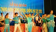 Kết quả tổ chức chương trình biểu diễn nghệ thuật tuyên truyền phòng, chống ma túy tại thành phố Hà Nội