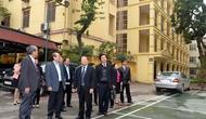 Bộ trưởng Hoàng Tuấn Anh thăm và chúc mừng Tổng cục TDTT nhân Ngày Thể thao Việt Nam