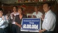 Công đoàn Bộ hỗ trợ kinh phí xây nhà tình nghĩa cho thương binh nặng ở tỉnh Cà Mau