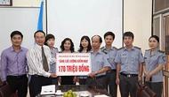 Trao 420 triệu đồng cho lực lượng Kiểm ngư và cán bộ, chiến sĩ Cảnh sát biển Việt Nam