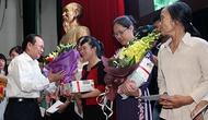 Gặp mặt 20 gia đình cảnh sát biển, kiểm ngư nhân kỷ niệm Ngày Gia đình Việt Nam