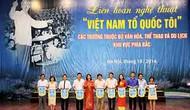 """Liên hoan Nghệ thuật """"Việt Nam Tổ quốc tôi"""""""