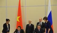 Ký kết Bản Ghi nhớ về hợp tác thể dục thể thao Việt Nam-Liên bang Nga