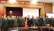 Gặp mặt quân nhân chuyển ngành về công tác tại Bộ VHTTDL