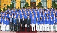 Chủ tịch nước Trương Tấn Sang gặp mặt chúc mừng thành công của Đoàn Thể thao Việt Nam tham dự Sea Games 28