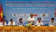Họp báo quốc tế Đại hội Thể thao Bãi biển Châu Á lần thứ 5 - 2016