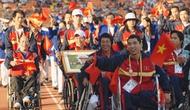 127 VĐV khuyết tật Việt Nam tham dự Đại hội Thể thao người khuyết tật Đông Nam Á lần thứ 8