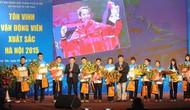 Sở Văn hóa và Thể thao Hà Nội tôn vinh 15 vận động viên tiêu biểu