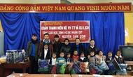 Đoàn TNCS Hồ Chí Minh Bộ VHTTDL tặng quà học sinh có hoàn cảnh khó khăn tại huyện Mù Cang Chải, tỉnh Yên Bái