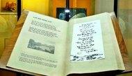 Trao Bằng Kỷ lục độc bản Thế giới cho cuốn Sử thi Hoa Lư thi tập