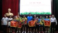 Công Đoàn Văn phòng Bộ tổ chức Giải bóng bàn truyền thống mở rộng năm 2016