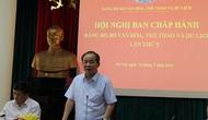 Hội nghị Ban chấp hành Đảng bộ Bộ VHTTDL lần thứ 5