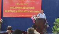 Đảng ủy Khối cơ sở Bộ VHTTDL quán triệt Nghị quyết Đại hội XII của Đảng