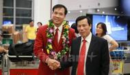 Bộ trưởng Nguyễn Ngọc Thiện: 'Hoàng Xuân Vinh giành được HCV Olympic là một kỳ tích'