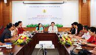 Hội nghị giao ban giữa Ban thường vụ Công đoàn Viên chức Việt Nam với Ban Thường vụ Công đoàn Bộ VHTTDL